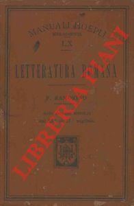 Letteratura romana. Sesta edizione corretta.