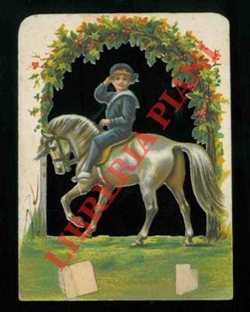 Bambino a cavallo.
