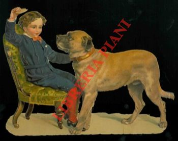 Cane e bambino.