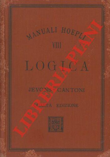 Logica. Traduzione di Carlo Cantoni. Quarta edizione.