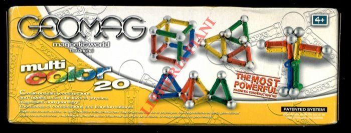 Geomag. Magnetic world. The original.
