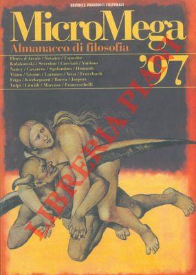 Almanacco di filosofia. MicroMega 1-1997.