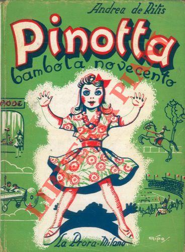 Pinotta bambola novecento. Copertina di Gipes. Illustrazioni di Domenico Natoli.