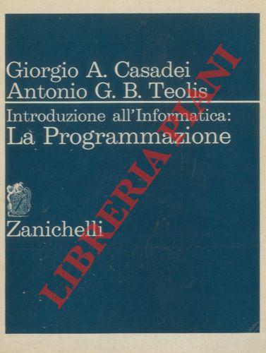 Introduzione all'Informatica: La Programmazione.