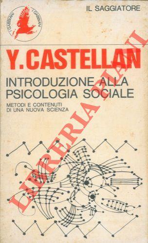 Introduzione alla psicologia sociale.