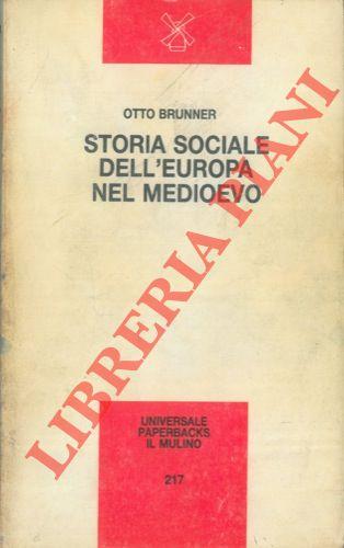 Storia sociale dell�Europa nel Medioevo.
