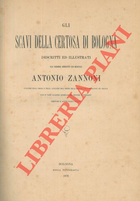 Gli scavi della Certosa di Bologna descritti e illustrati.