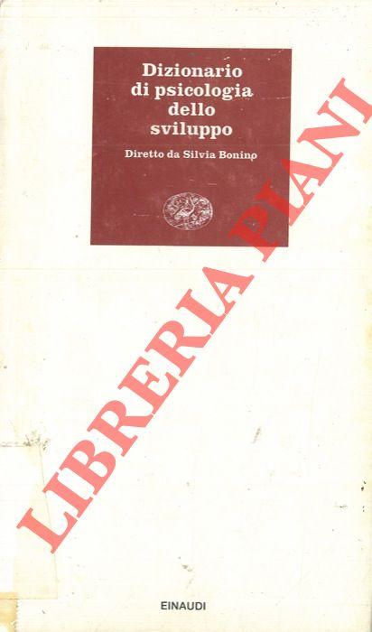 Dizionario di psicologia dello sviluppo.