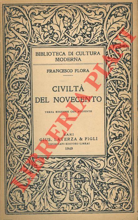 Civiltà del novecento.
