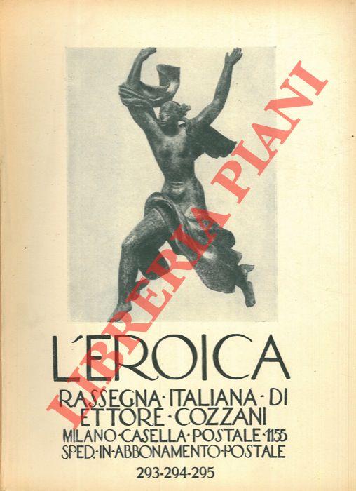 L-039-Eroica-Rassegna-italiana-di-Ettore-Cozzani-N-293-294-295