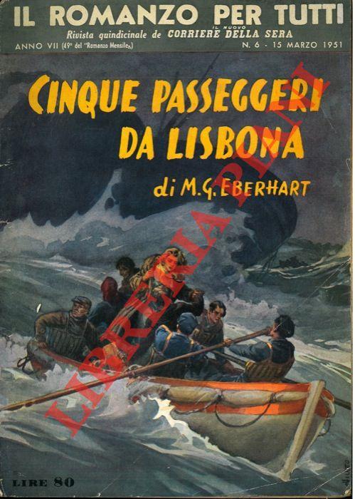 Cinque passeggeri da Lisbona.