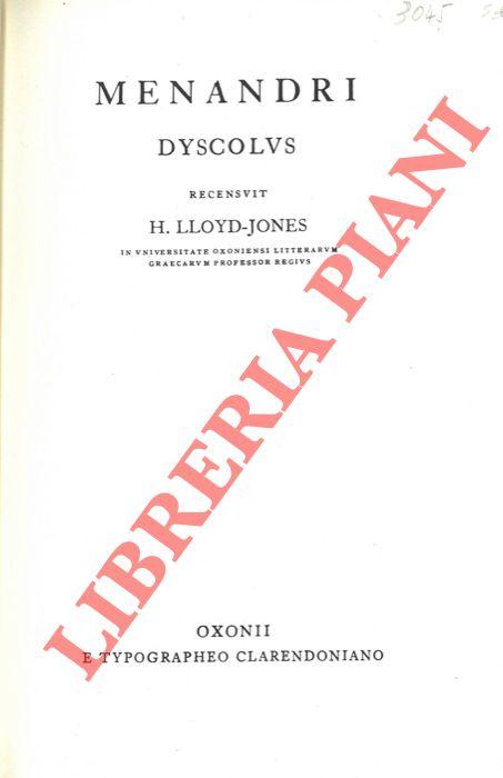Menandri Dyscolus.