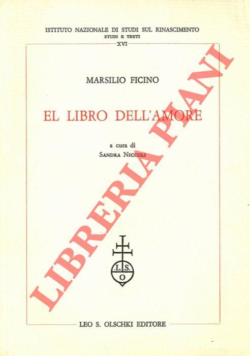 El Libro dell'Amore. A cura di Sandra Niccoli.