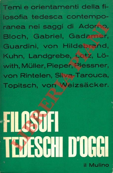 Filosofi tedeschi d'oggi.