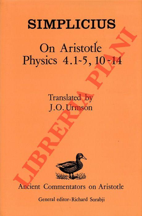On Aristotle Physics 4.1-5, 10-14.