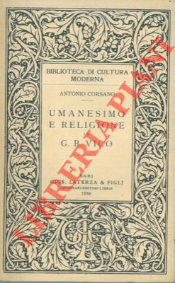 Umanesimo e religione in G. B. Vico.