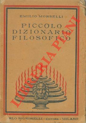 Piccolo dizionario filosofico.