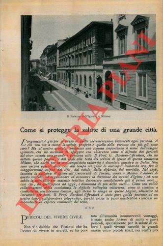 Come si protegge la salute di una grande città (Milano).