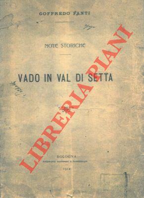 4-19812 – Vado in Val di Setta.