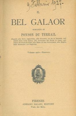 Il bel Galaor.